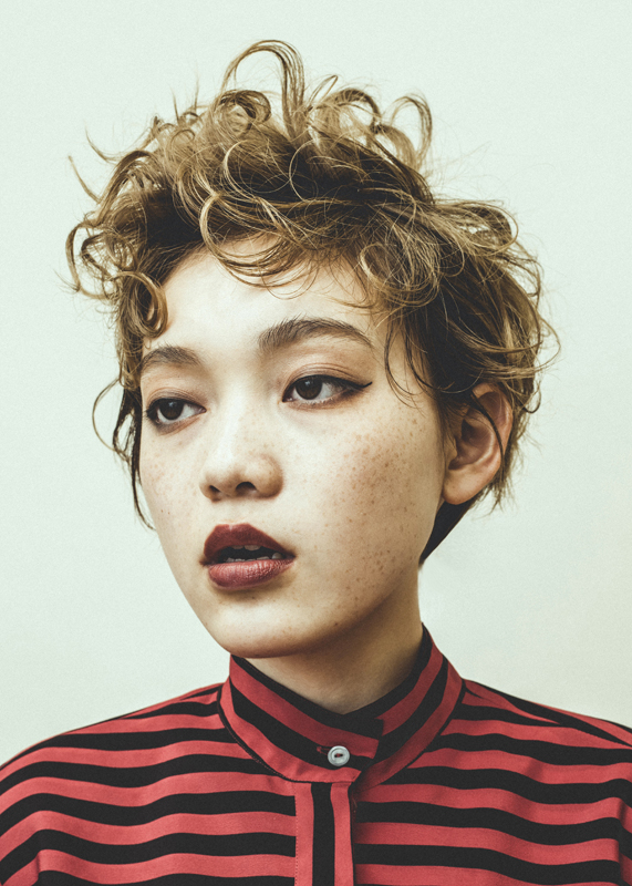 hair:TAKE photo: Masaya Tanaka