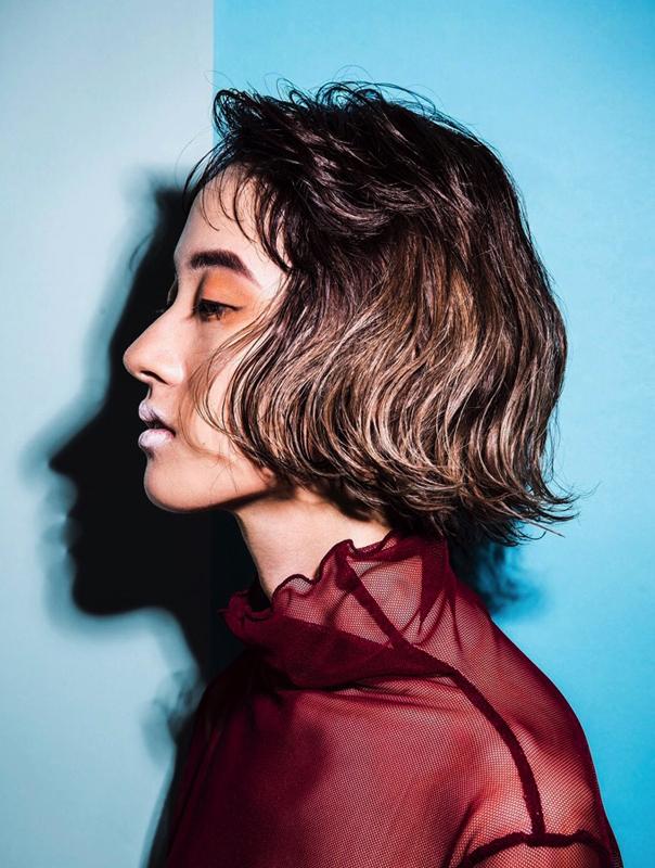 model : manami hair: Nishiguchi make: Ohyane photo: Misuzu