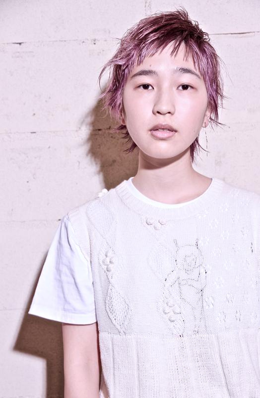hair&photo:  TAKE make: yama model: yurina