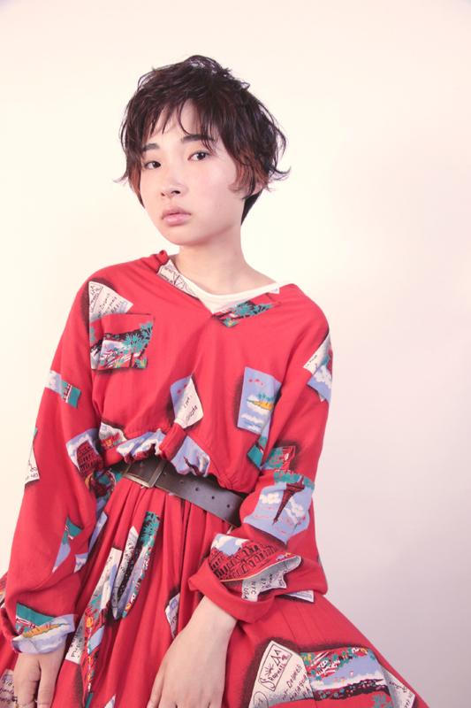 hair: nishiguchi  make: yama photo: TAKE model: miki