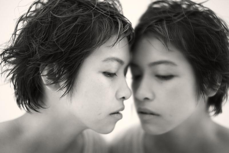 HAIR: TAKE MAKE: yama PHOTO: misuzu MODEL: yuko