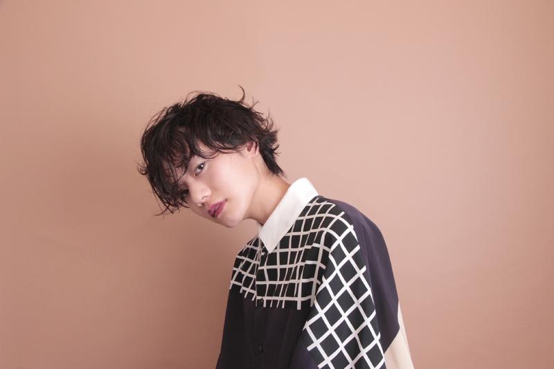 hair&photo: nishiguchi make: oyane model: kaoru